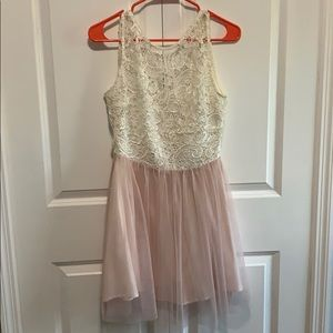Lovely tulle and lace dress